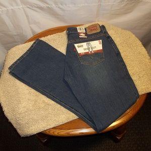 Levi's 515 Boot Cut Jeans Womens Misses Size 6M